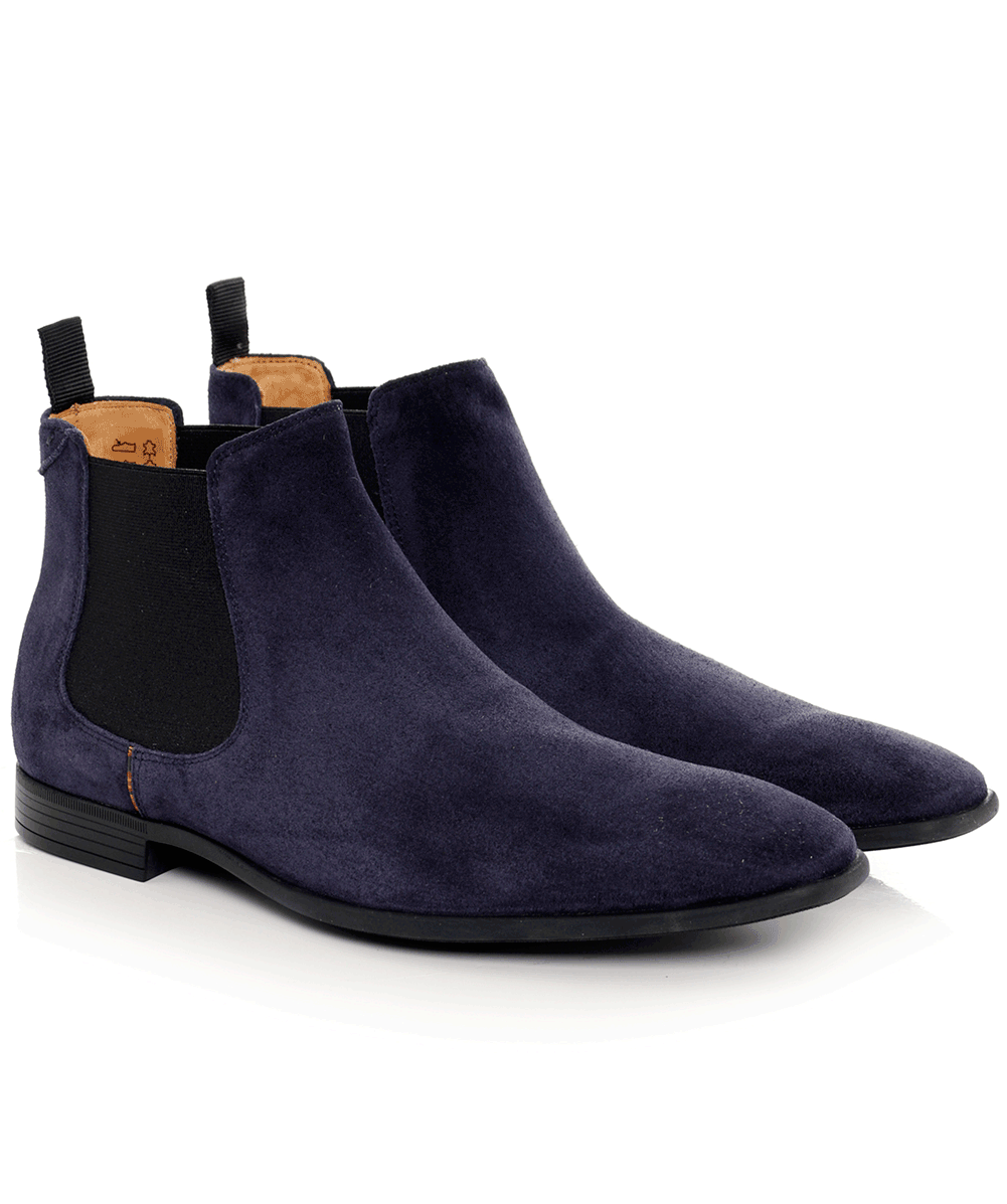 7d3cad672fd Ps paul smith blue suede falconer chelsea boots jules png 1001x1197 Blue  suede boots