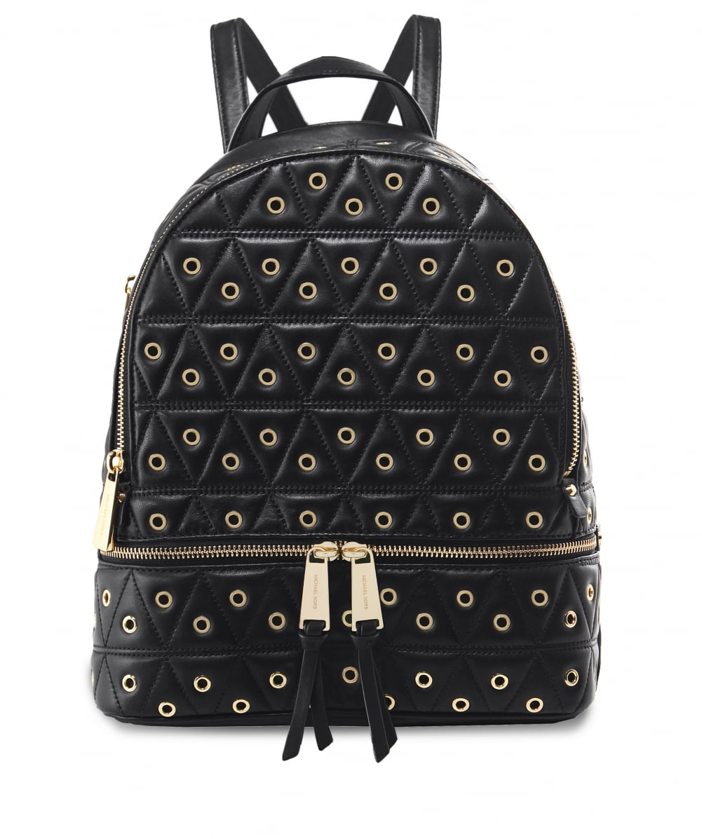 21f5931041fe MICHAEL Michael Kors Grommet Leather Rhea Quilted Backpack | Jules B