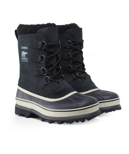 Sorel Nubuck Leather Caribou Boots