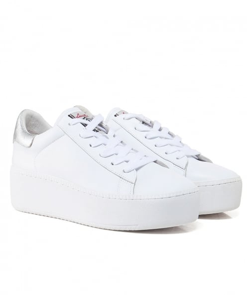 Ash Leather Cult Platform Trainers