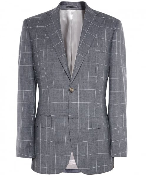 Jules B Slim Fit Wool Check Jacket