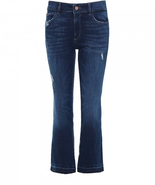 DL1961 Lara Cropped Flare Jeans