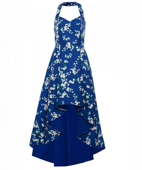Alice and Olivia Harper High Low Dress