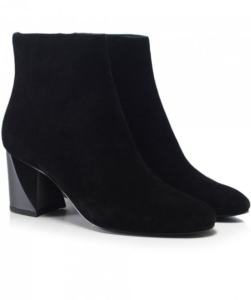 Kendall and Kylie Shoes Suede Hadlee Ankle Boots