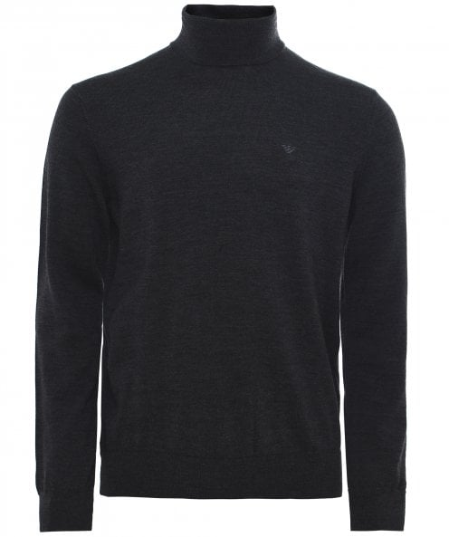 Armani Virgin Wool Roll Neck Jumper
