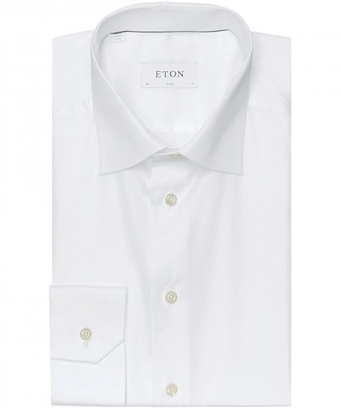 Eton Slim Fit Plain Shirt