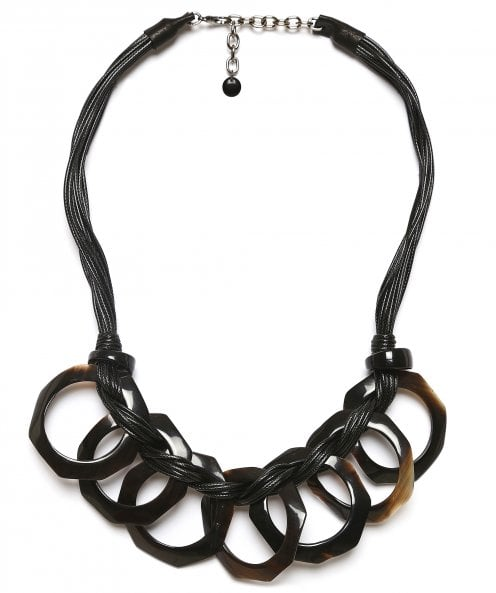 Zen Jewellery Horn Effect Chain Necklace