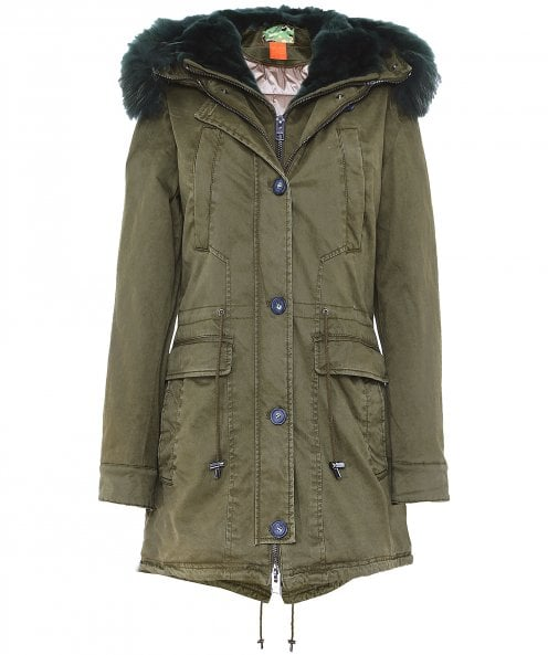 Oakwood Saphir Luxe Long Fur Trim Parka