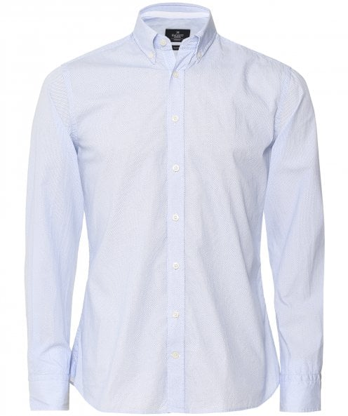 Hackett Slim Fit Micro Diamond Shirt