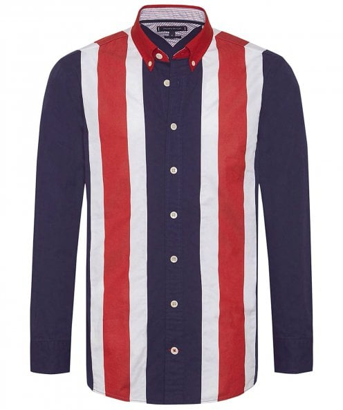 Tommy Hilfiger Oversized Fit Icon Panelled Shirt