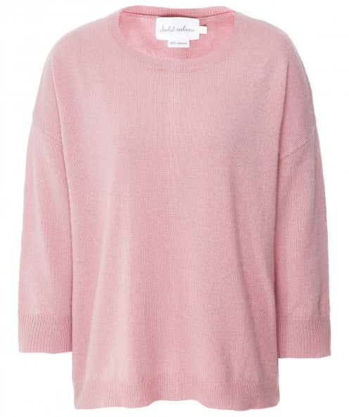 Absolut Cashmere Cashmere Buttoned Back Jumper