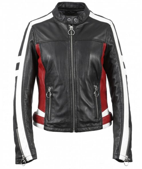 Oakwood Gigi Leather Biker Jacket