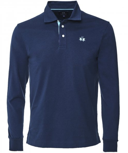 La Martina Xavier Long Sleeve Polo Shirt