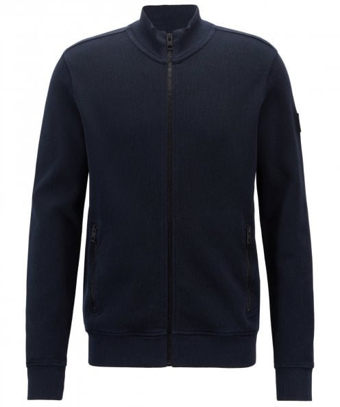BOSS Relaxed Fit Jersey Zildman Sweatshirt