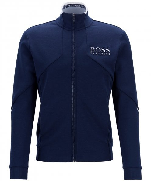 BOSS Regular Fit Zip-Through Skaz Sweatshirt