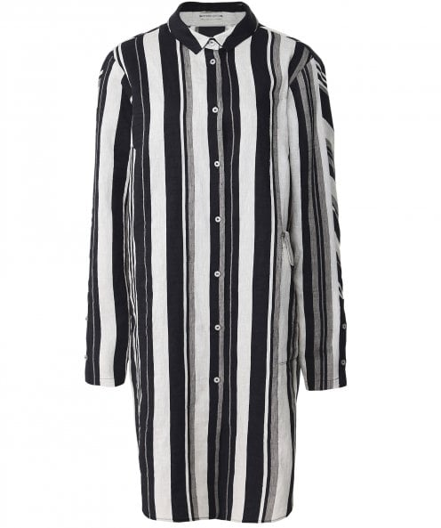 Annette Gortz Orca Stripe Long Shirt