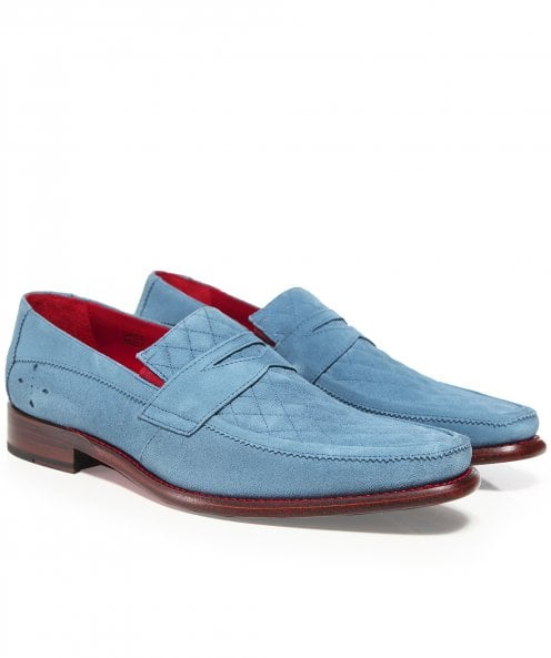 Jeffery-West Suede Dance Melly Penny Loafers