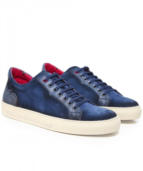 Jeffery-West Suede Apolo Trainers