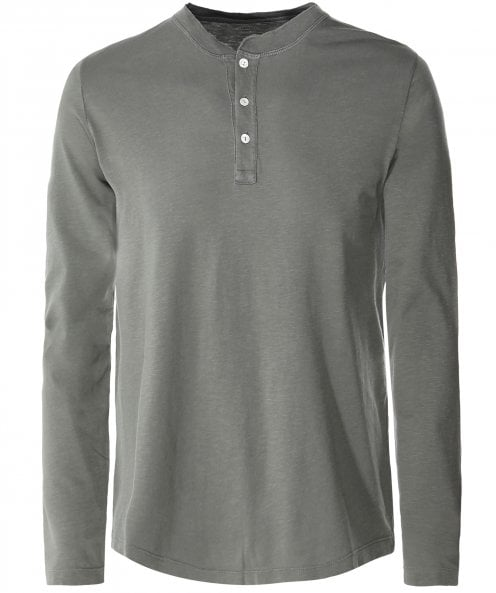 Hartford Long Sleeve Henley T-Shirt