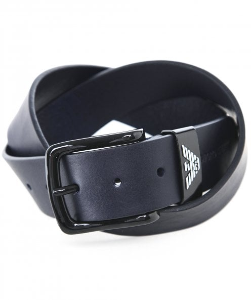 Armani Textured Leather Belt
