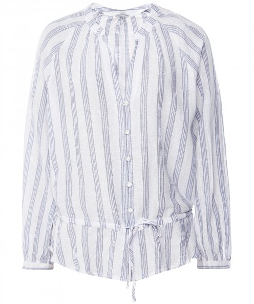 Rails Linen Blend Marti Striped Top