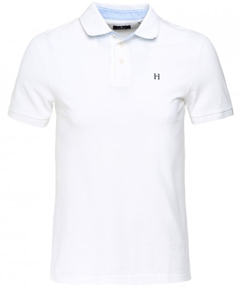 Hackett Slim Fit Boat Swim Trim Polo Shirt