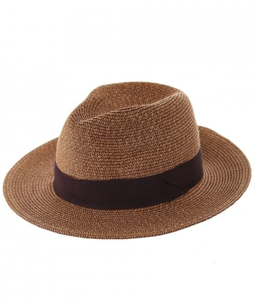Bailey Straw Mullan Fedora Hat