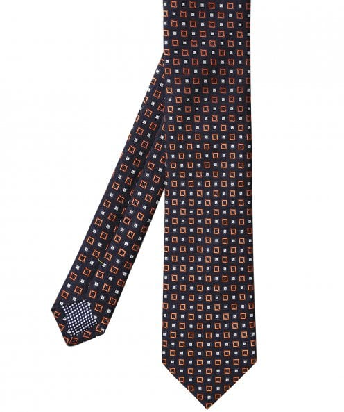 Eton Silk Patterned Tie