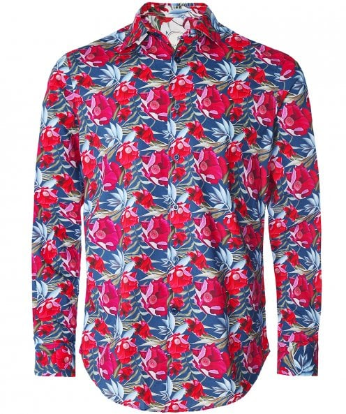 Ganesh Cotton Floral Shirt
