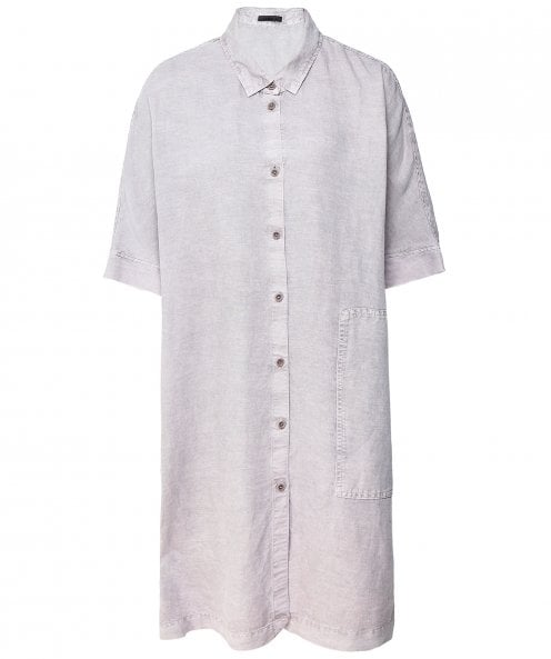 Oska Linen Blend Numavo Shirt Dress