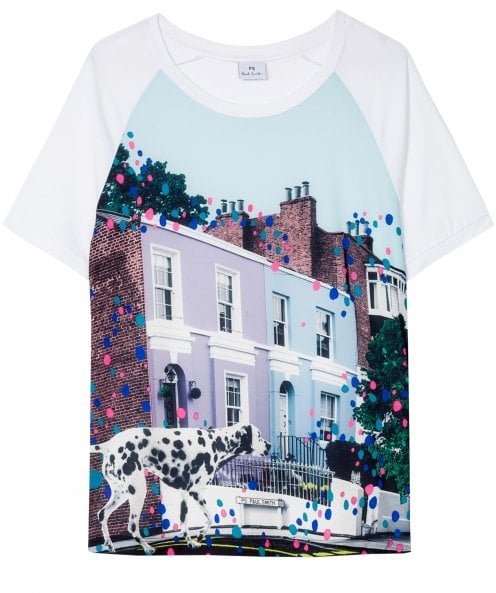Paul Smith 'Dalmatian Spot' Print T-Shirt