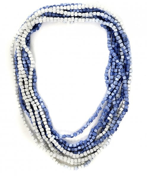 Jianhui Multi Strand Ombré Beaded Necklace