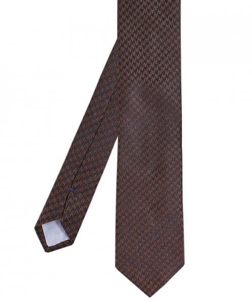 Stenstroms Silk Houndstooth Tie
