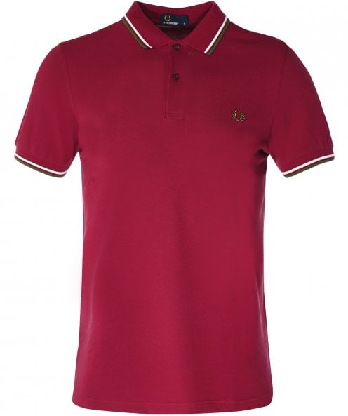 Fred Perry Twin Tipped Polo Shirt M3600 106