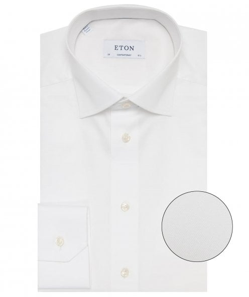 Eton Contemporary Fit Cambridge Twill Shirt