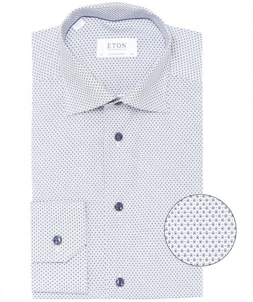 Eton Contemporary Fit Teardrop Shirt
