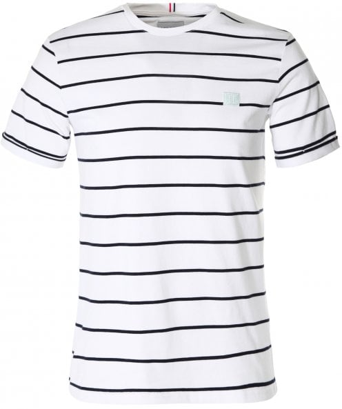 Les Deux Regular Fit Striped Betroist T-Shirt