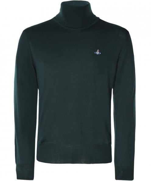 Vivienne Westwood Man Virgin Wool Roll Neck Jumper