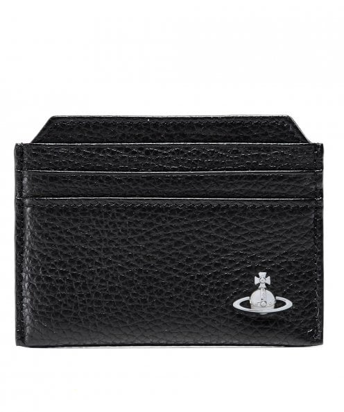 Vivienne Westwood Man Tumbled Leather Milano Card Holder