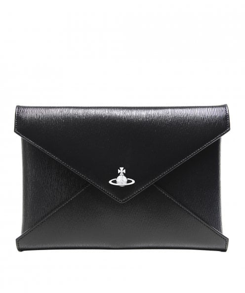 Vivienne Westwood Accessories Grained Leather Bella Pouch