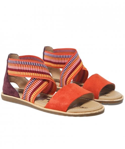 Sorel Suede Ella Sandals
