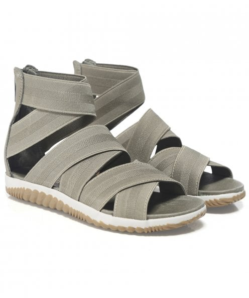 Sorel Leather Out 'N About Plus Strap Sandals