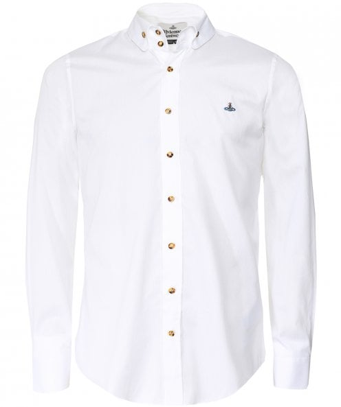 Vivienne Westwood Man Fitted Two Button Krall Shirt