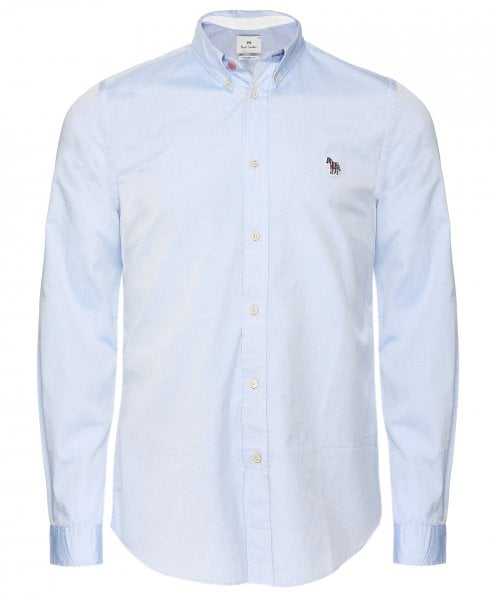 PS by Paul Smith Tailored Fit Zebra Oxford Shirt