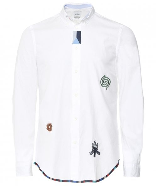 PS by Paul Smith Tailored Fit Patch Shirt
