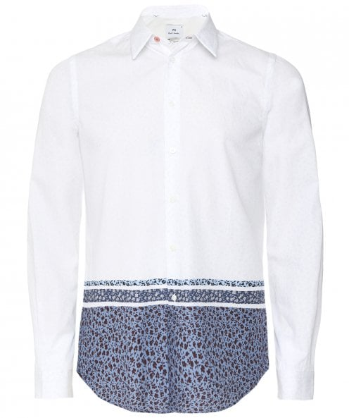 Paul Smith Tailored Fit Floral Print Shirt