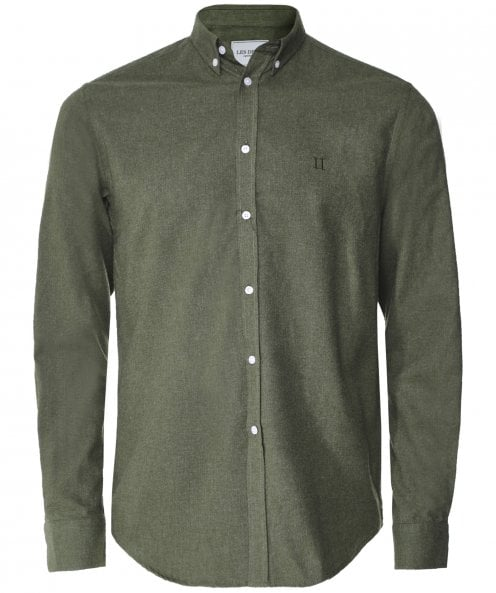 Les Deux Brushed Cotton Desert Shirt