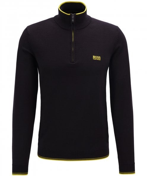 BOSS Half-Zip Zimex_W19 Jumper