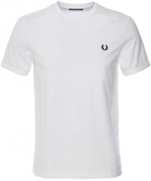 Fred Perry Crew Neck Ringer T-Shirt M3519 100