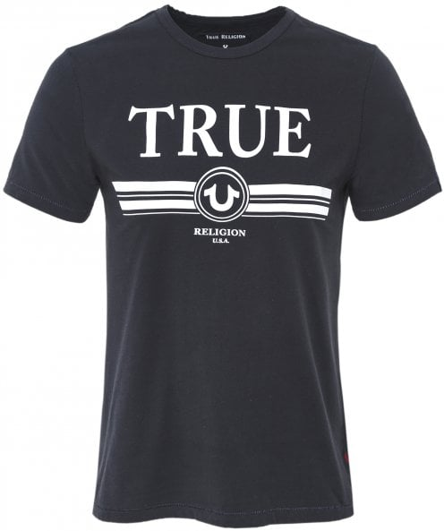 True Religion Crew Neck True Retro T-Shirt